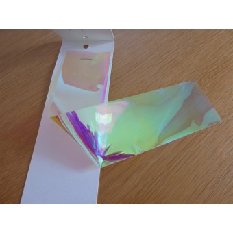 Tinsel mirage opal en feuille