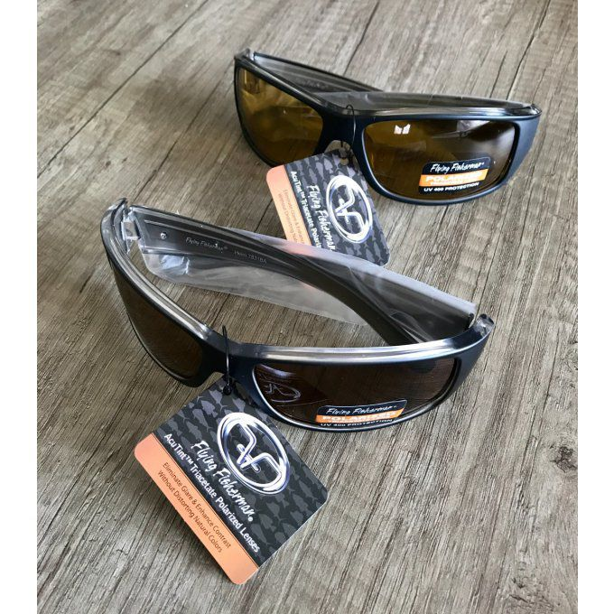 Lunettes polarisantes FLYING FISHERMAN - Helm black