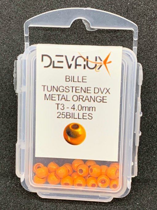 Billes tungstène DVX métal orange