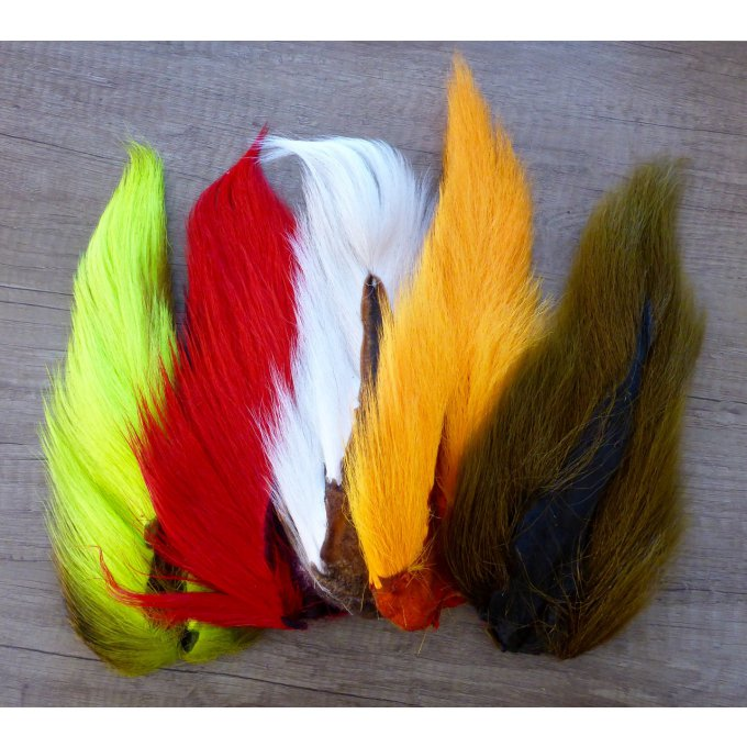 Bucktail teinté